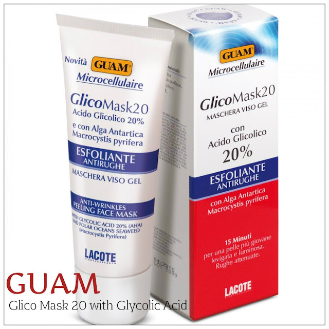 Review: GUAM Glico Mask 20 with Glycolic Acid – AHA 20%