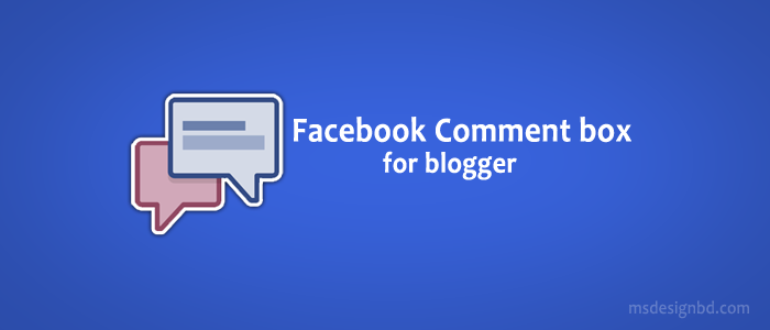 Latest version Facebook comment box for Blogger