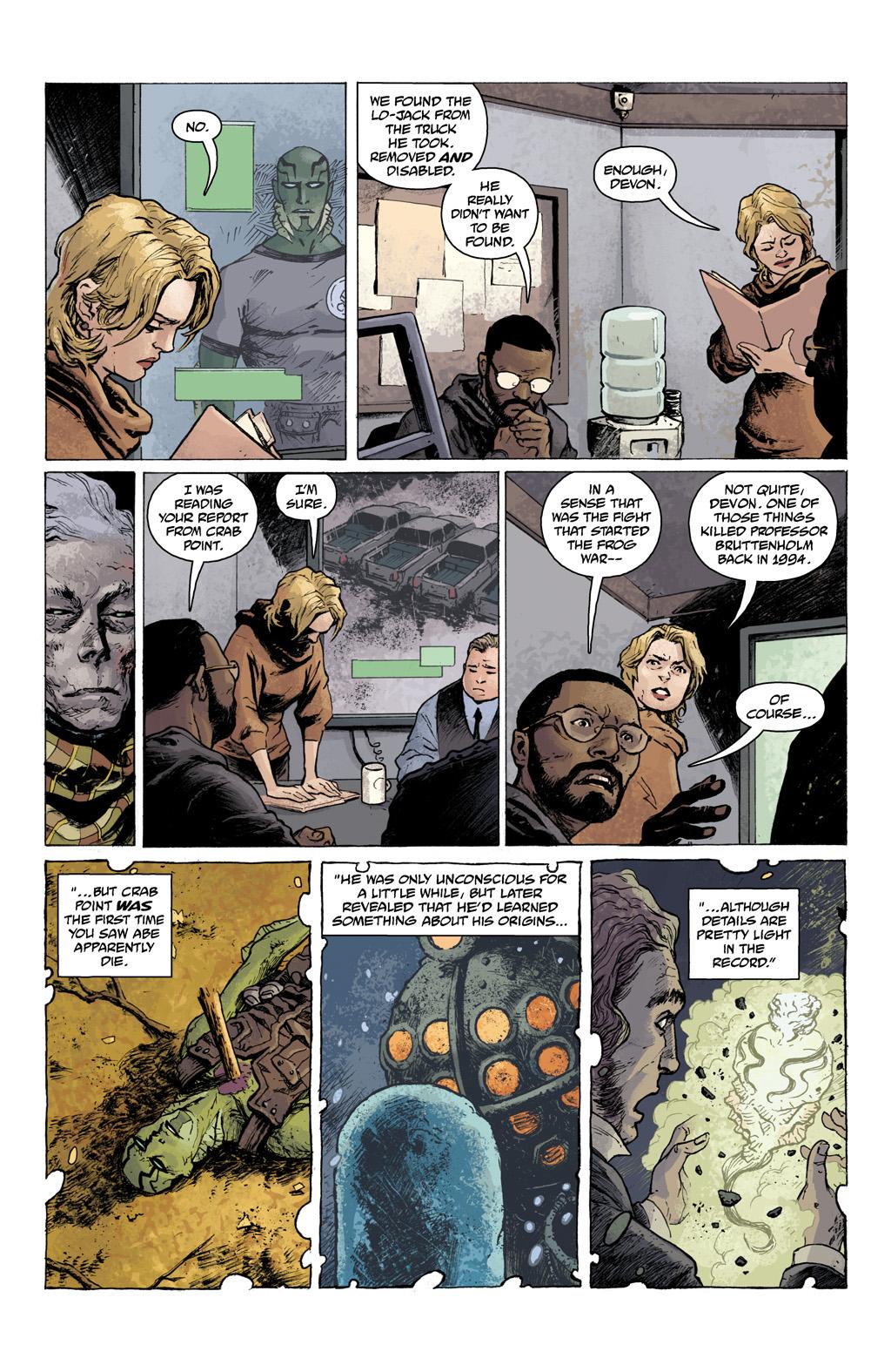 Read online Abe Sapien comic -  Issue #1 - 8