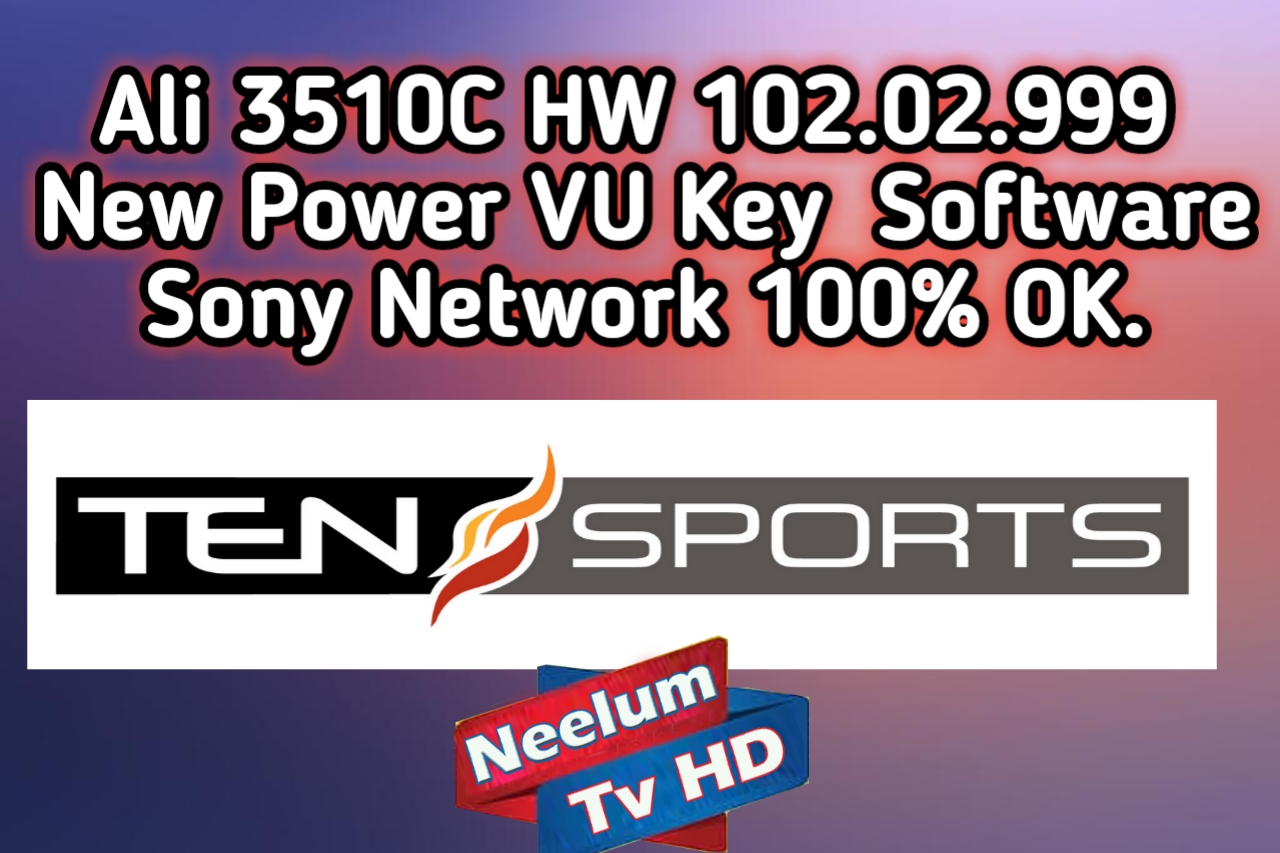 Ali 3510C HW 102 02 999 New Power VU Key Software Sony
