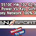 Ali 3510C HW 102.02.999  New Power VU Key  Software Sony Network 100% OK.