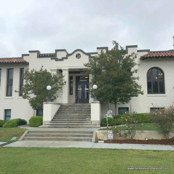 Carnegie Library in Woodland, California
