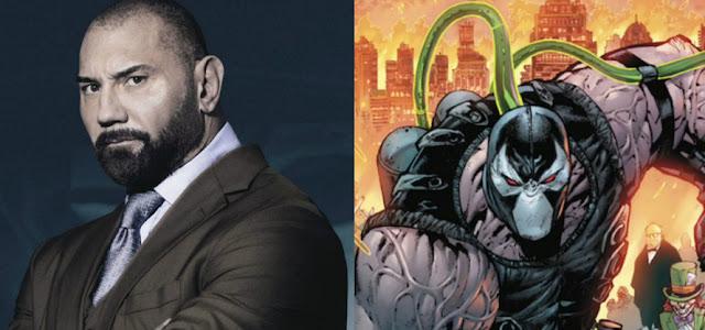 Dave Bautista confirma que não estará interpretando Bane em 'The Batman'