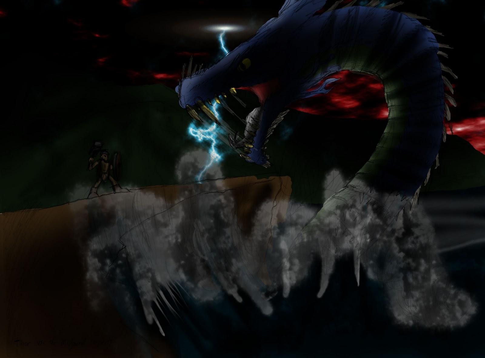 TH'DEN WHEJA Productions: Thor VS the Midgard Serpent