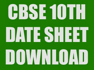 cbse-10th-time-table