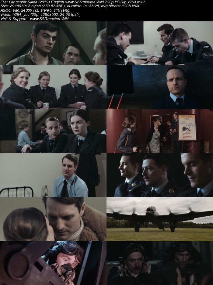 Lancaster Skies (2019) English 720p HDRip x264 850MB ESubs Movie Download