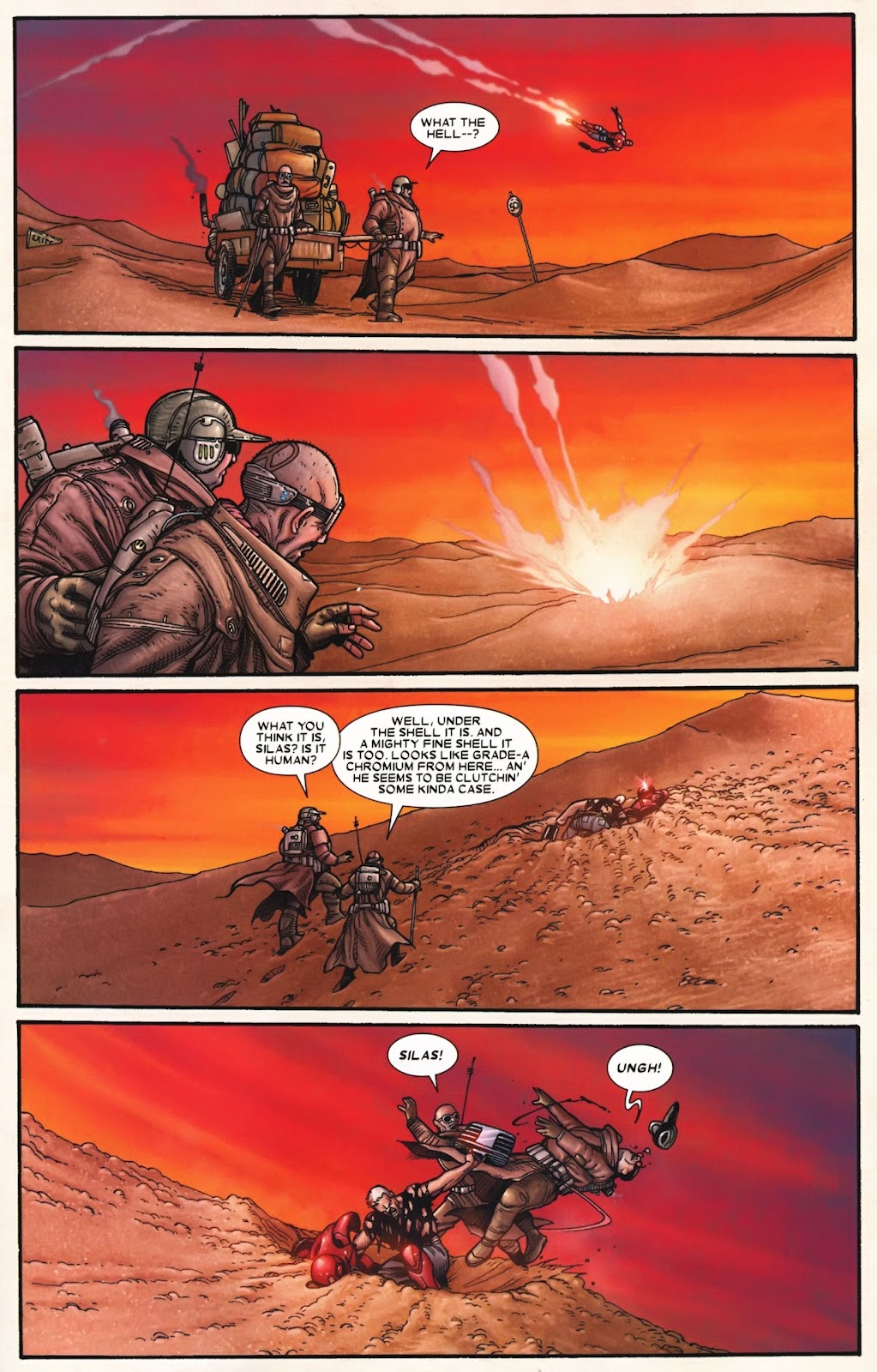 Read online Wolverine (2003) comic -  Issue #72 - 22