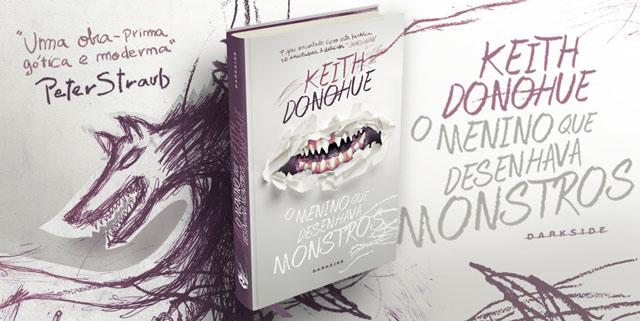 Dica de leitura - O menino que desenhava monstros