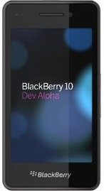 BlackBerry 10 Dev Alpha A