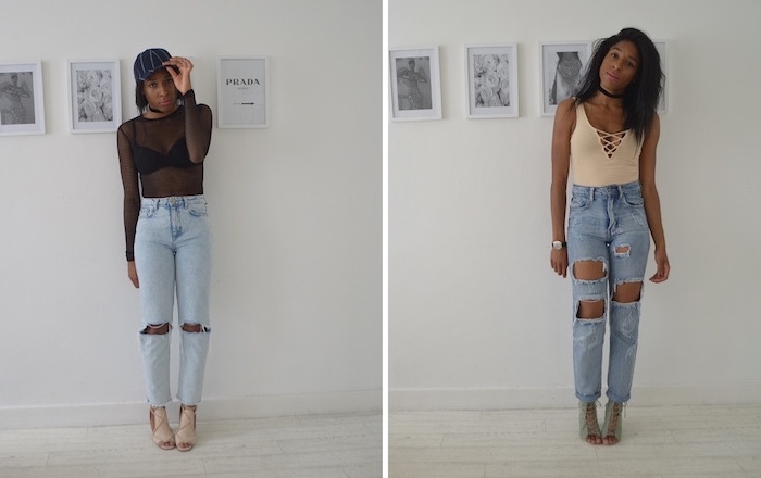 STYLING TWO OUTFITS
