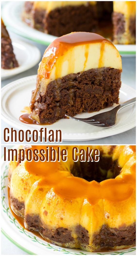 Chocoflan Impossible Cake
