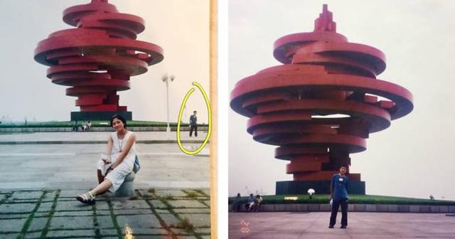 Se descubren en la misma foto 11 años antes de conocerse
