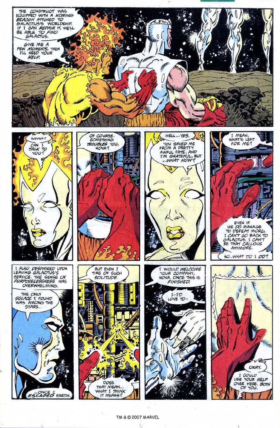 Read online Silver Surfer (1987) comic -  Issue #73 - 15