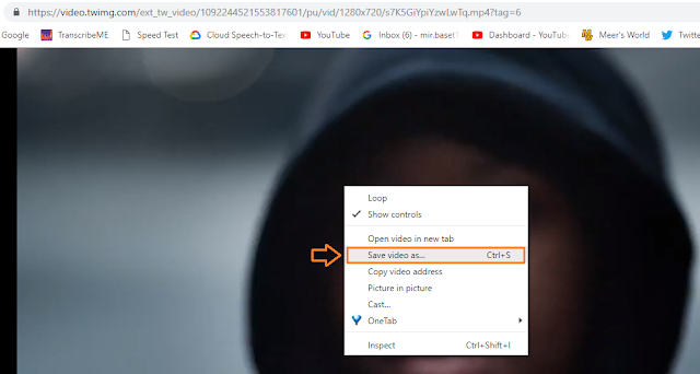 How To Download/Save Twitter Videos   Simplest Way