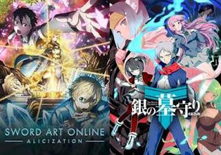 anime terbaru genre fantasy tahun 2018