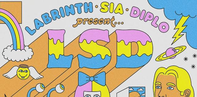 lirik lagu LSD - Heaven Can Wait  ft. Sia, Diplo, Labrinth