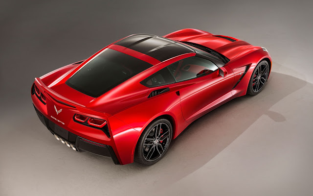 The 2014 Chevrolet Corvette Stingray - Wallpaper back