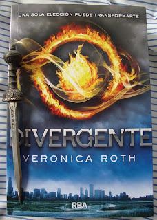 Portada del libro Divergente, de Veronica Roth
