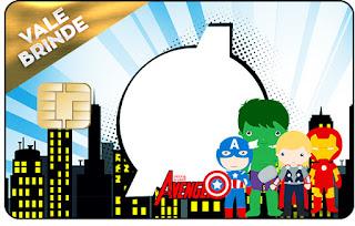 Avengers Chibi Style, Visa Invitation.