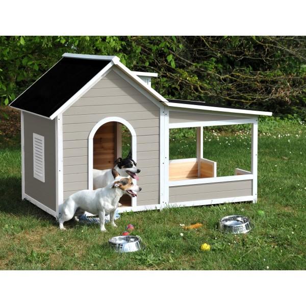 construire maison chien. Black Bedroom Furniture Sets. Home Design Ideas