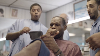 LeBron James Barber Shop