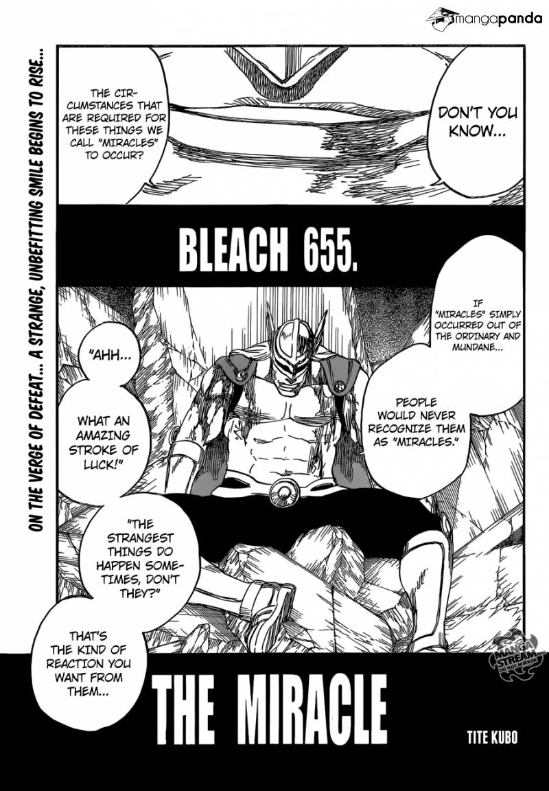 Bleach Ch 655: The Miracle