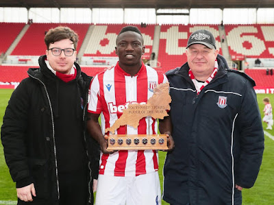 Oghenekaro Etebo Wins Stoke City's 'Player Of The Year' Award ahead2019 Africa Cup of Nations