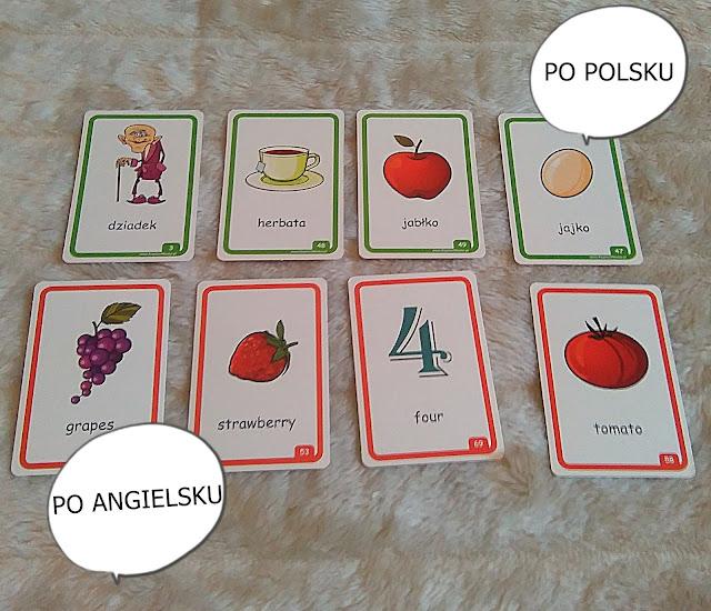 angielski dla dzieci 100 pierwszych slowek, karty, nauka, kapitan nauka, opinia