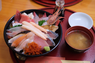 鳥取砂丘の海鮮丼 鯛喜 海鮮丼ちょっと豪華
