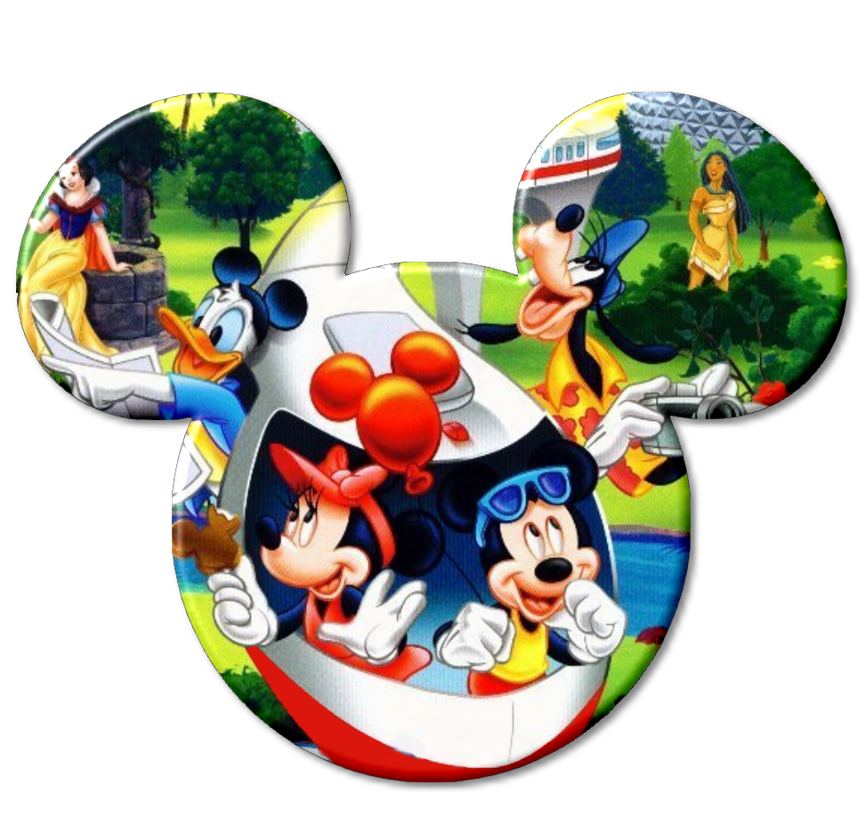 Mickey Heads with Disney Characters Inside. | Oh My Fiesta ...