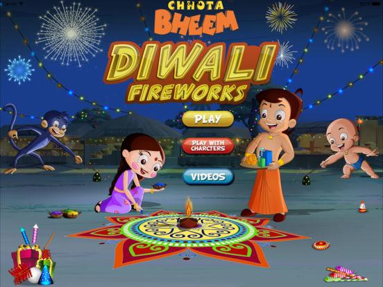 diwali firecrackers  chhota bheem