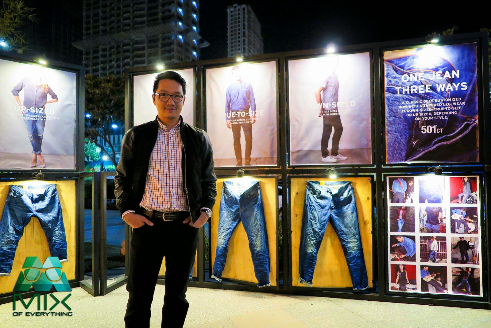3db5b0b6635 Levi's has recently launched its new jean series, the 501 CT at Valkyrie,  The Palace in BGC last February 11, 2015. The 501 CT is a reinvention of the  much ...