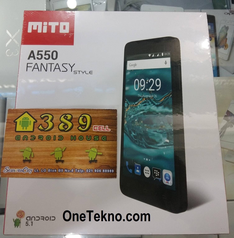 Spek Terbaru Mito A550 Fantasy Style RAM 2GB OS Lollipop