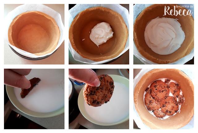Receta de tarta de cookies y nata: cómo montar el relleno 1