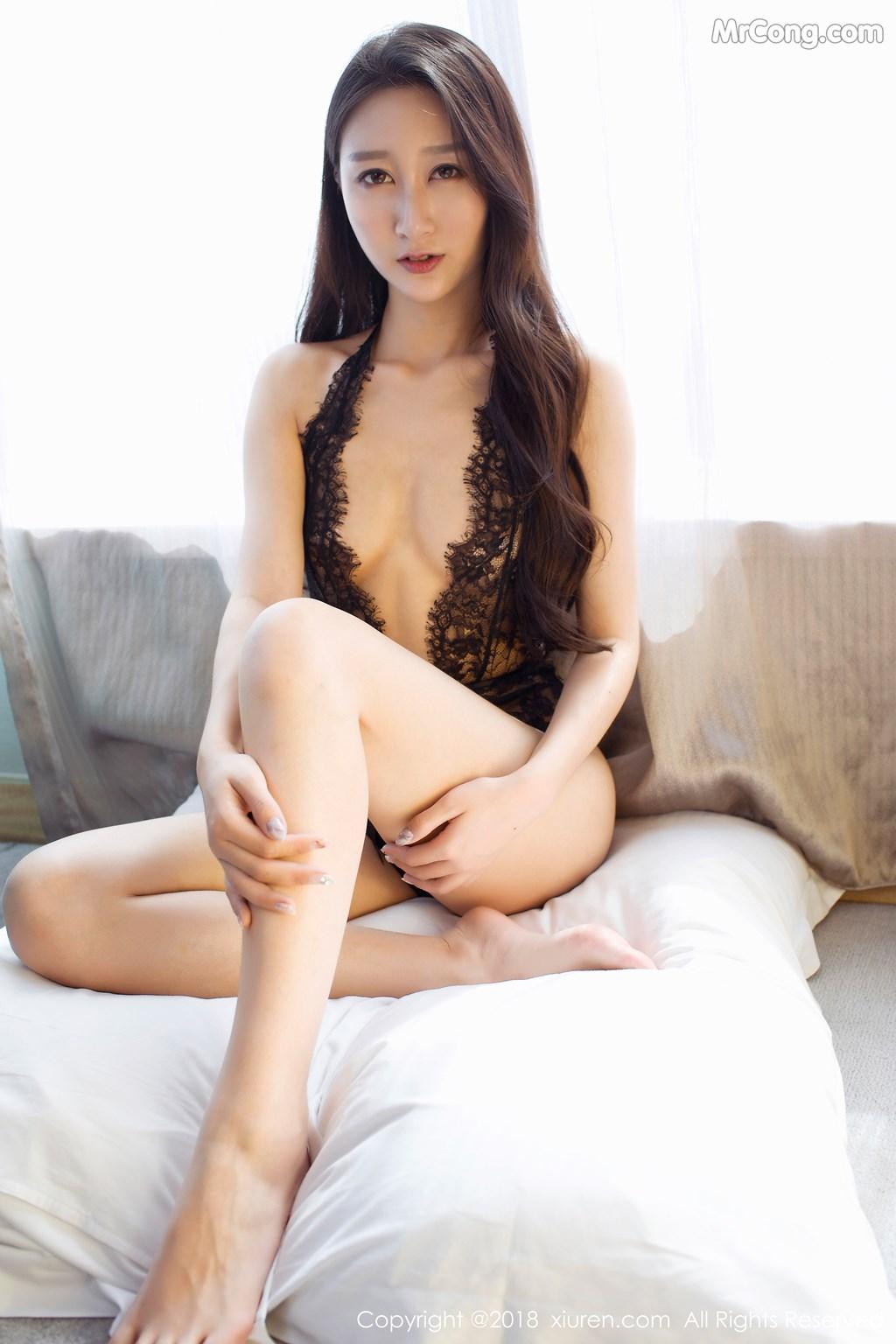 Image XIUREN-No.918-Zhao-Xi-Er-MrCong.com-005 in post XIUREN No.918: Người mẫu Zhao Xi Er (赵熙儿) (48 ảnh)