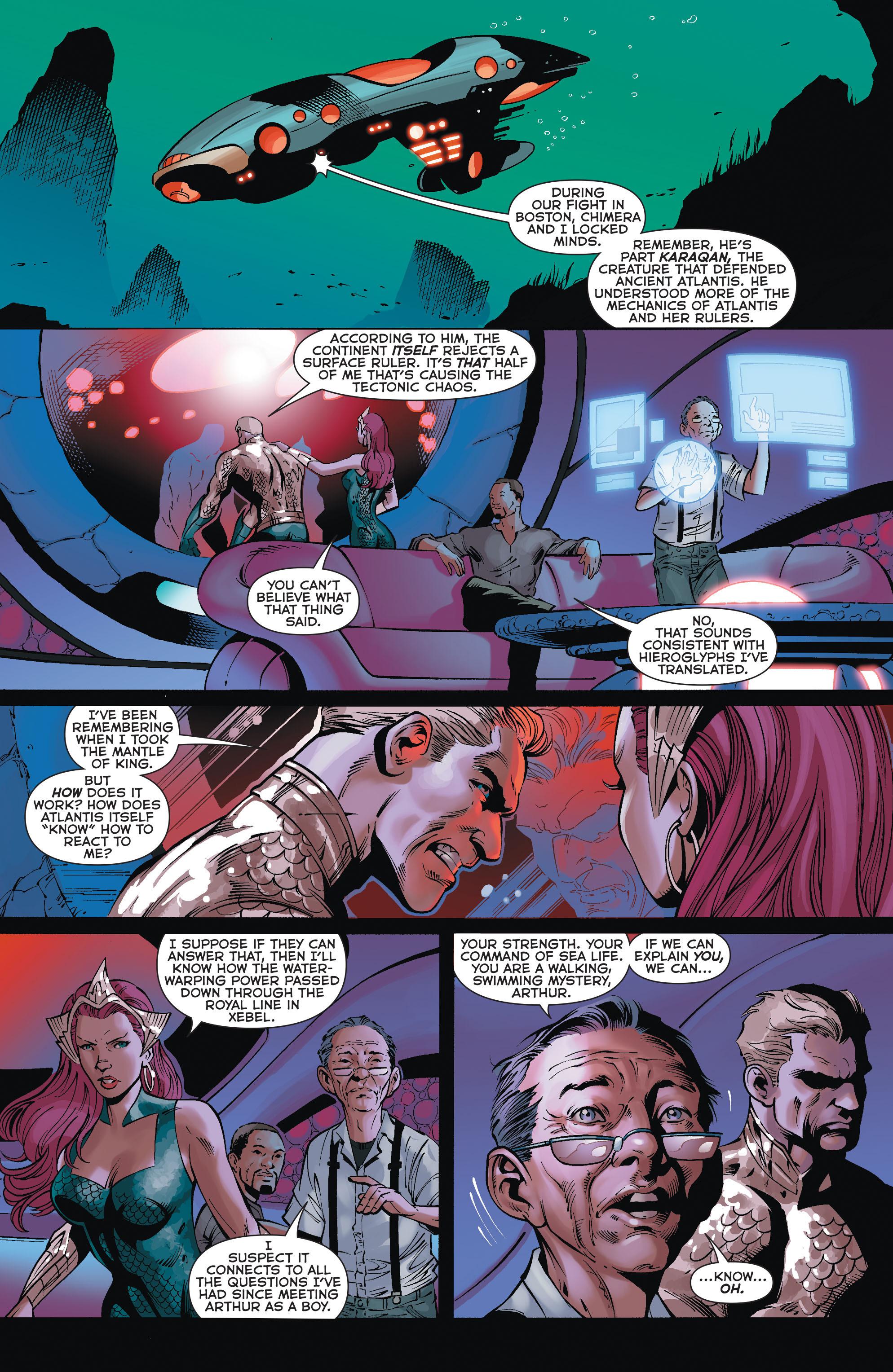 Read online Aquaman (2011) comic -  Issue #35 - 6