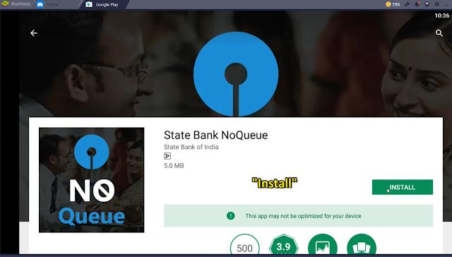 SBI NO QUEUE: BANK-A INTLAR NGAI LOVA TOKEN LAK DAN