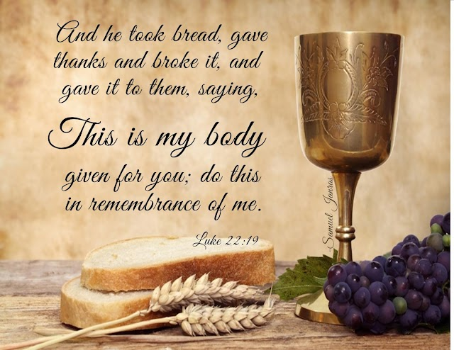 Maundy Thursday Bible Quotes Images