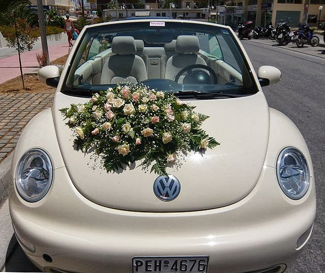 Link Camp: Wedding Car Flower Decoration Collections 2013 (5