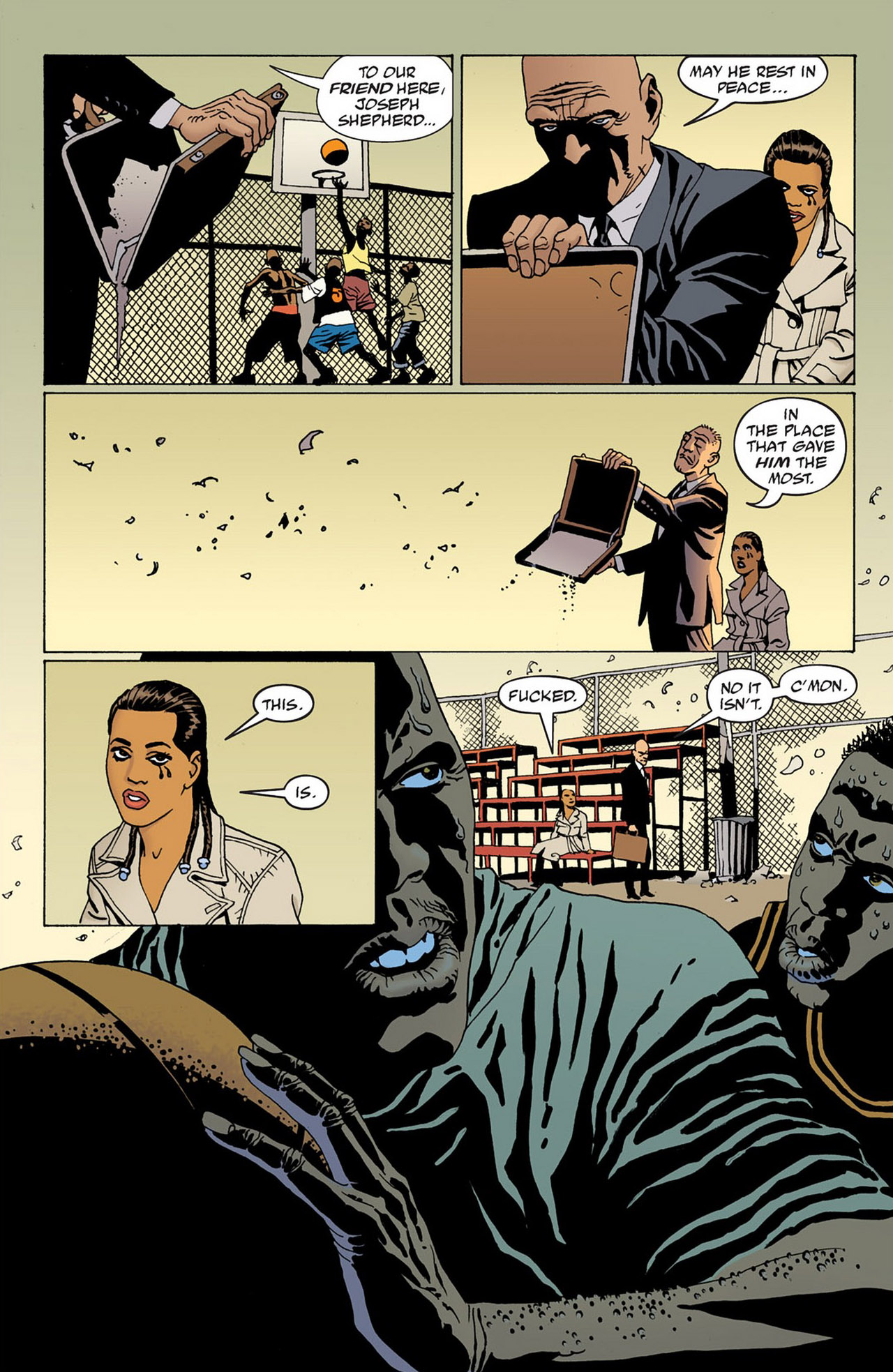 Read online 100 Bullets comic -  Issue #83 - 22