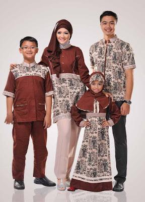 yaitu salah satu hal yang sanggup dijadikan sebagai wangsit pada dikala saat tertentu 10 Model Baju Muslim Sekeluarga Couple Modern Terbaru 2018