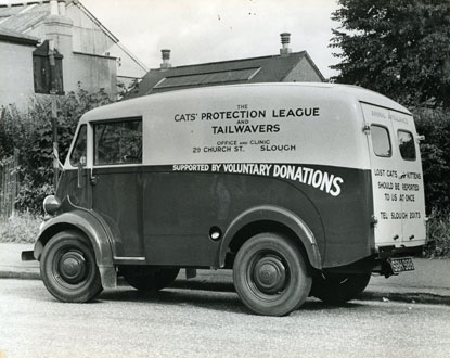 Cats Protection historic ambulance