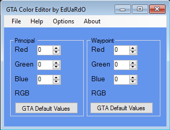 [GrandTheftAuto] Utility: Simple Colors Tool 123