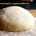 Ciasto drożdżowe idealne - przepis podstawowy - prosty