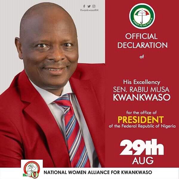 Kwankwaso unveils 'positive change' agenda, knocks Buhari, APC at declaration – [Full text]