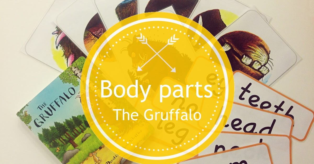 ... kids | Resources for teachers and parents: The Gruffalo: Body parts
