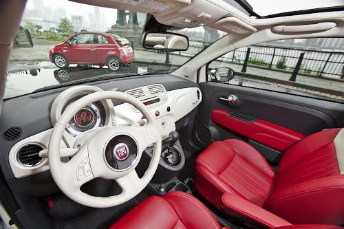 Fiat 500c Cabrio Interior