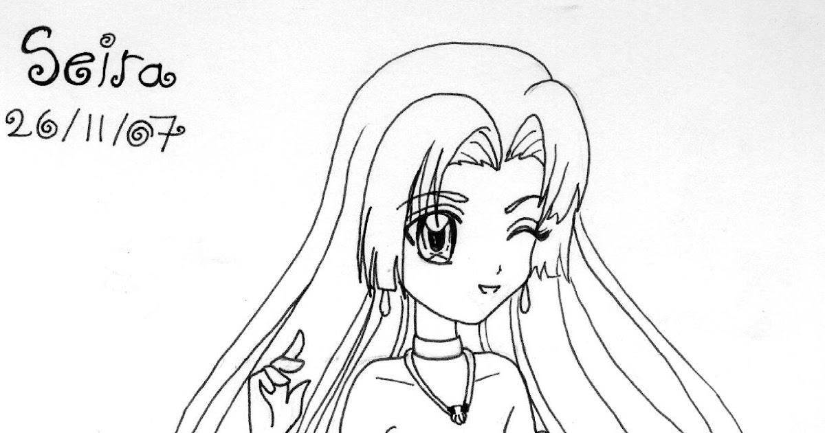 Desenhos Para Colorir: Mermaid Melody