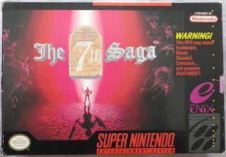 The 7th Saga - Caja delante