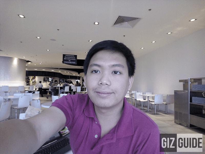 Selfie sample